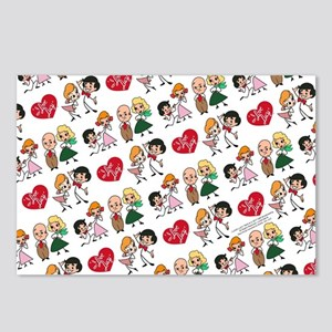 I Love Lucy Character Sti Postcards (Package of 8)